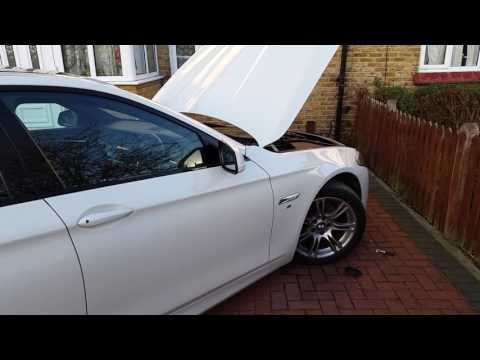 BMW f10  5 series head light bulb replacement