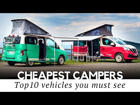10 Cheapest Camping Vehicles and Conversion Kits to Start Your Van Life