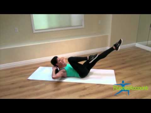 FitnessAccount com - How to - Reverse Bicycle Crunch