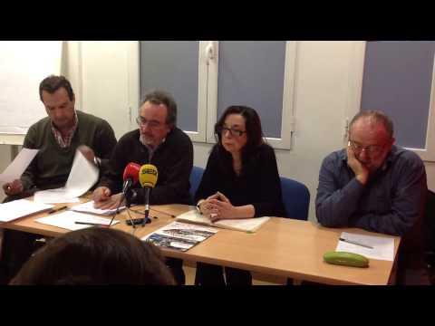 Oposiciones 2015. Rueda De Prensa De Los Sindicatos De La Mesa Sectorial De Educación (29/01/2015)