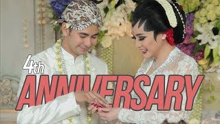 Our 4th Anniversary.....