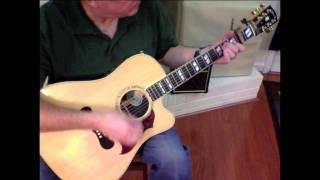 George Harrison - My Sweet Lord style basic chord progression and chord tab