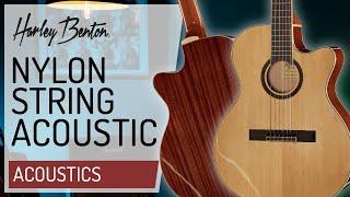Harley Benton - Santos Series - C40SCE NT - Classical Guitar - Presentation -