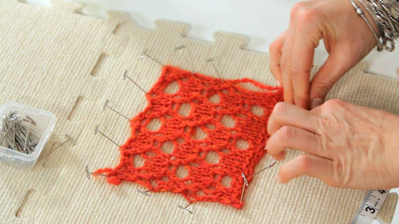 foto 3 Ways to Block Yarn