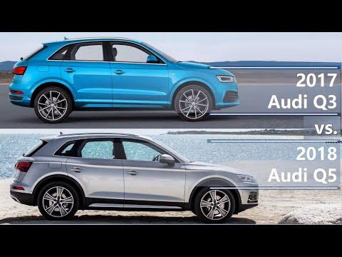 2017 Audi Q3 vs 2018 Audi Q5 (technical comparison)