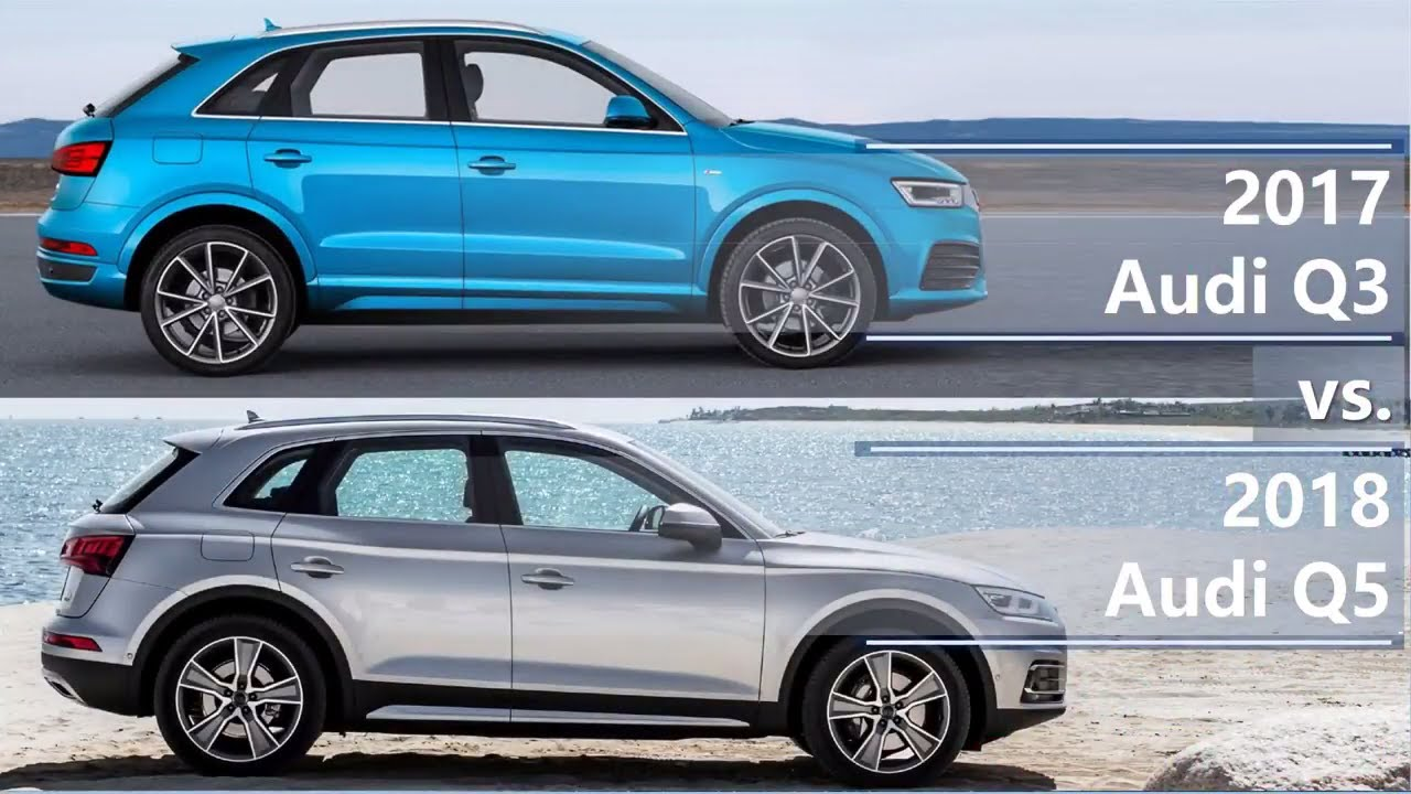 2017 audi q3 vs 2018 audi q5 technical comparison youtube. Black Bedroom Furniture Sets. Home Design Ideas