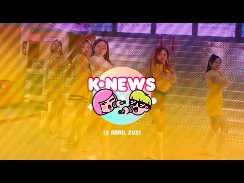 TWICE, NCT, BLACKPINK, BTS y más en las KNews | 15 de abril