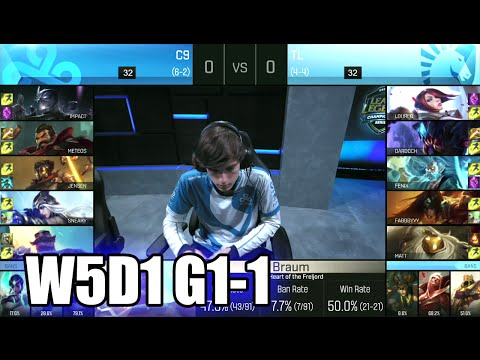 Cloud 9 vs Team Liquid | Game 1 S6 NA LCS Summer 2016 Week 5 Day 1 | C9 vs TL G1 W5D1 1080p