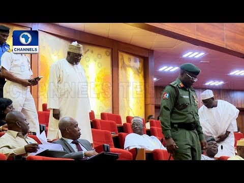 Nigerian Senate, Heads Of Security Agencies Agree Over Special Security Funding |The Gavel|