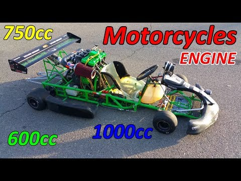 Go-Kart With Motorcycle Engine