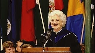 Barbara Bush - Wellesley Commencement Speech