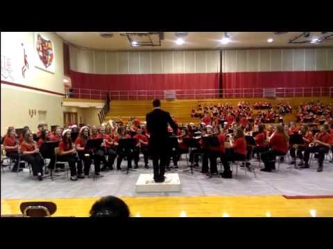 Blackford Junior High School Band-Christmas 2014-3