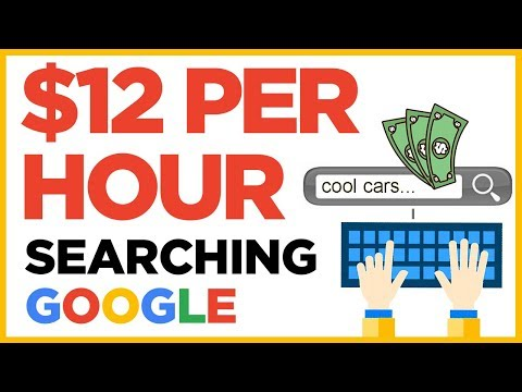 Earn Per Hour Searching Google - For Beginners