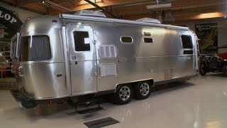 2013 Airstream Land Yacht Concept - Jay Leno's Garage