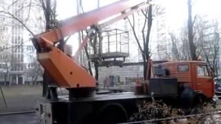Автовышка АПТ-28, Boom Trucks 28(Аренда автовышки АПТ-28 автоподъемник телескопический на базе автомобиля КамАЗ . Услуги автовышки АПТ-28..., 2016-12-27T16:58:26.000Z)