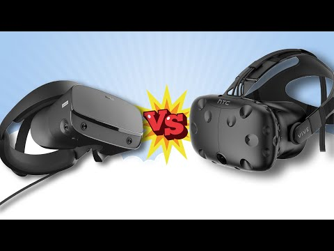 Oculus Rift S против HTC Vive