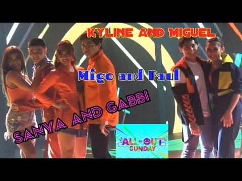 All Out Sexy Dance With Sanya, Gabbi ,Miguel, Paul, Kyline (February 16, 2020)