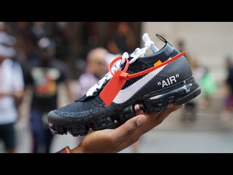 We Visit Virgil Abloh's Off White x Nike Event in New York