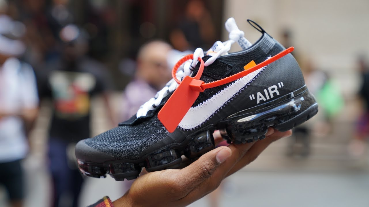 on sale 732ec 95c82 We Visit Virgil Abloh s Off White x Nike Event in New York