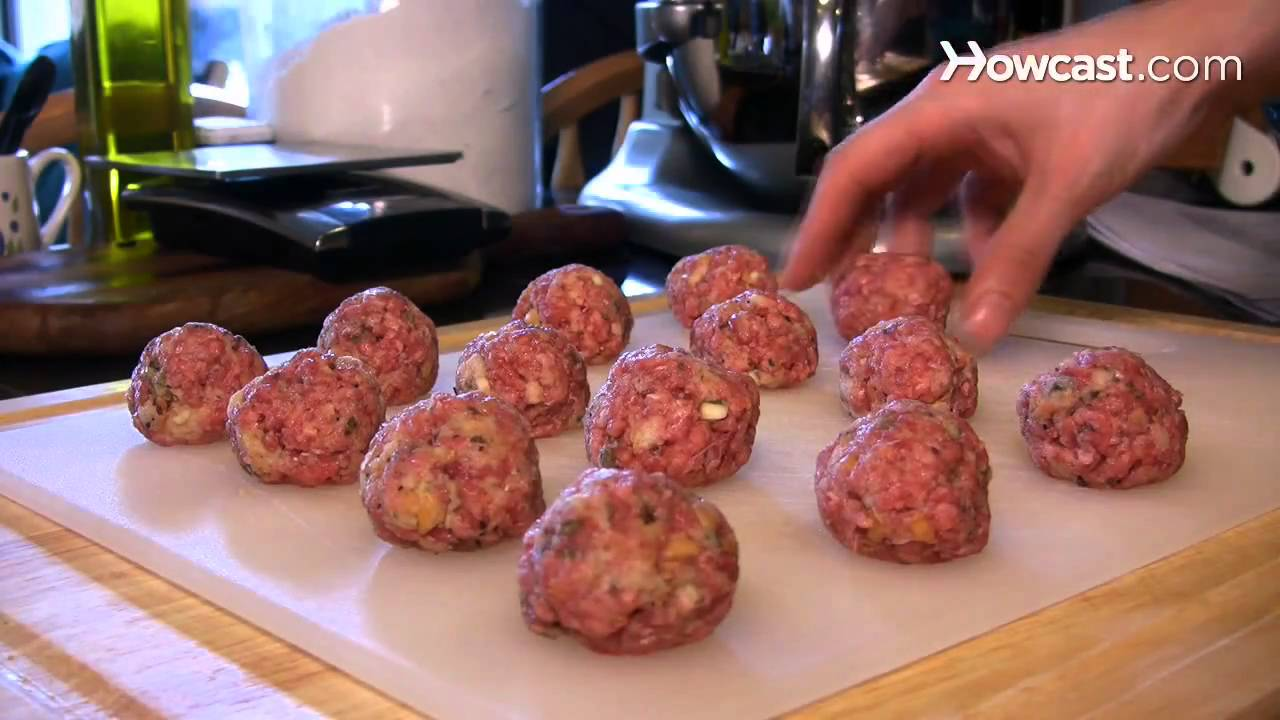 How to Make Simple Meatballs