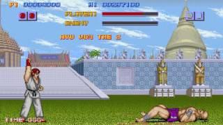 Street Fighter (World. Analog buttons) - Street Fighter (MAME) -Ryu Vs Sagat - Vizzed.com GamePlay - User video