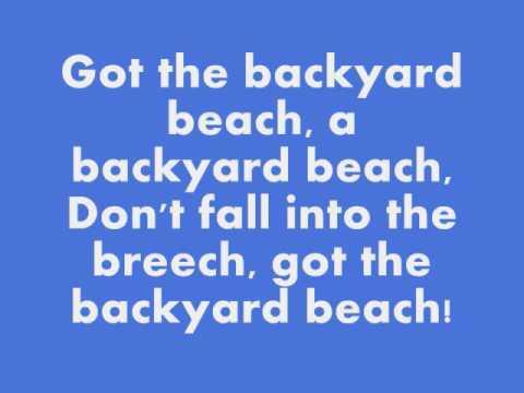 Phineas and Ferb - Backyard Beach with lyrics - YouTube