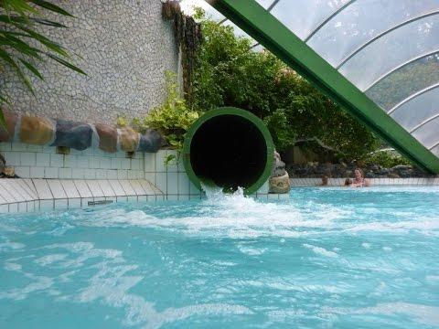 Het Vennenbos Zwembad.Alle Glijbanen Subtropisch Waterparadijs Landal Het Vennenbos Youtube