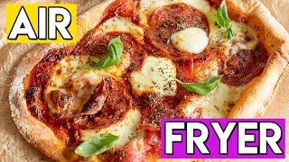 BEST Air Fryer Pizza Recipe  (Ninja Foodi XL)