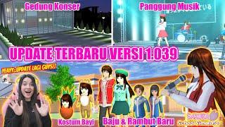 Download UPDATE TERBARU SAKURA VERSI 1.039!!ADA KONSER MUSIK..KEREN BANGET!! SAKURA SCHOOL SIMULATOR-PART 386