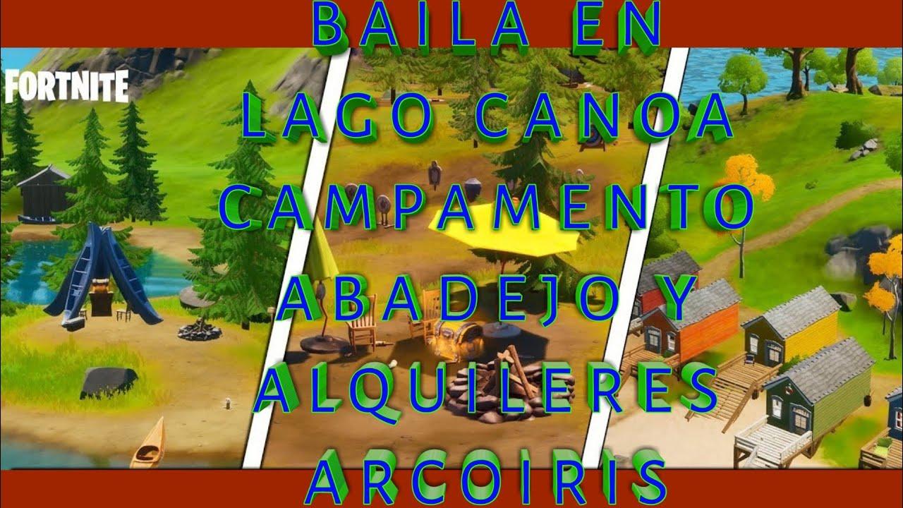 Baila En Lago Canoa Campamento Abadejo Y Alquileres Arcoiris Youtube