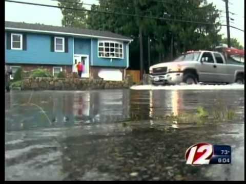 Flash Floods Hit Cranston