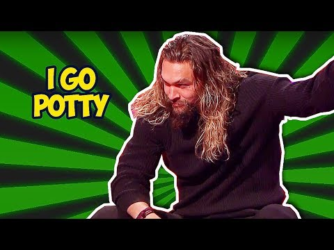 Jason Momoa (AQUAMAN) Will Crack You Up