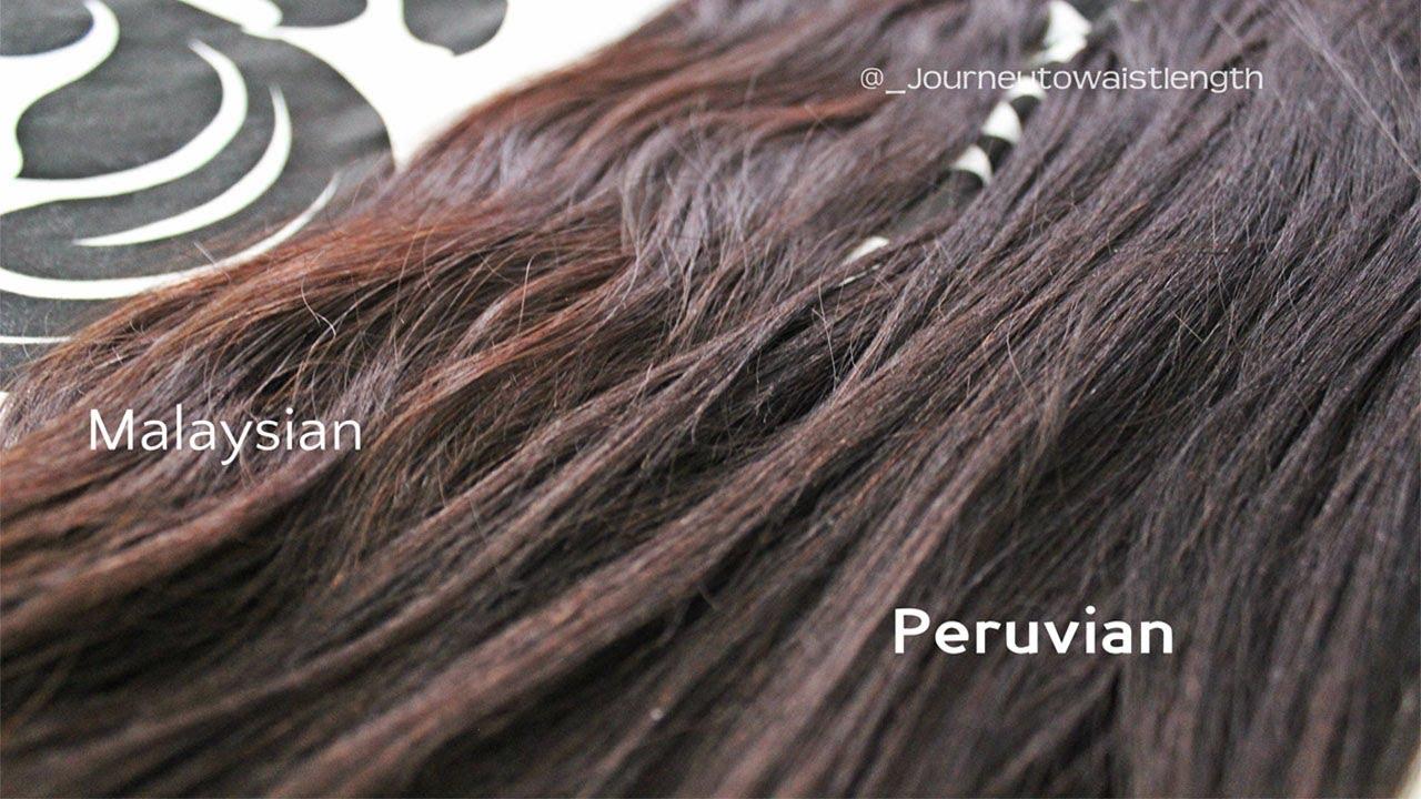 Peruvian Hair Vs Malaysian Hair Hairallyours Youtube