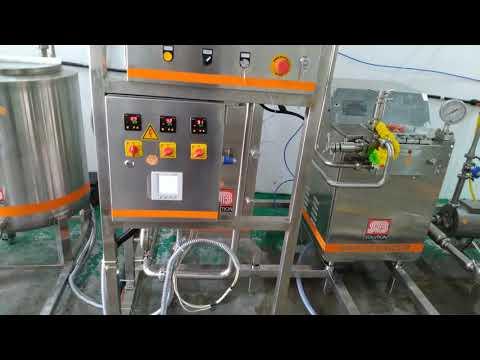 Mini Electric Milk Pasteurizer Plant