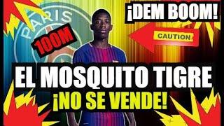 ¡¡PSG 100M por DEMBELE!! ¡¡OTRA VEZ NO!! | FC BARCELONA NOTICIAS FICHAJES y RUMORES