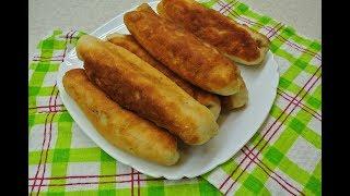 Пирожки с картошкой и печенью. Дрожжевое тесто или на кефире? Что лучше?