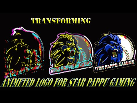 3d-transforming-gaming-logo- -star-pappu-gaming -1k-spcl