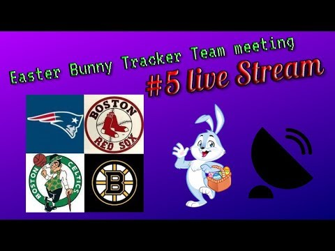 2018 EASTER BUNNY TRACKER LIVE STREAM TEAM MEETING #4