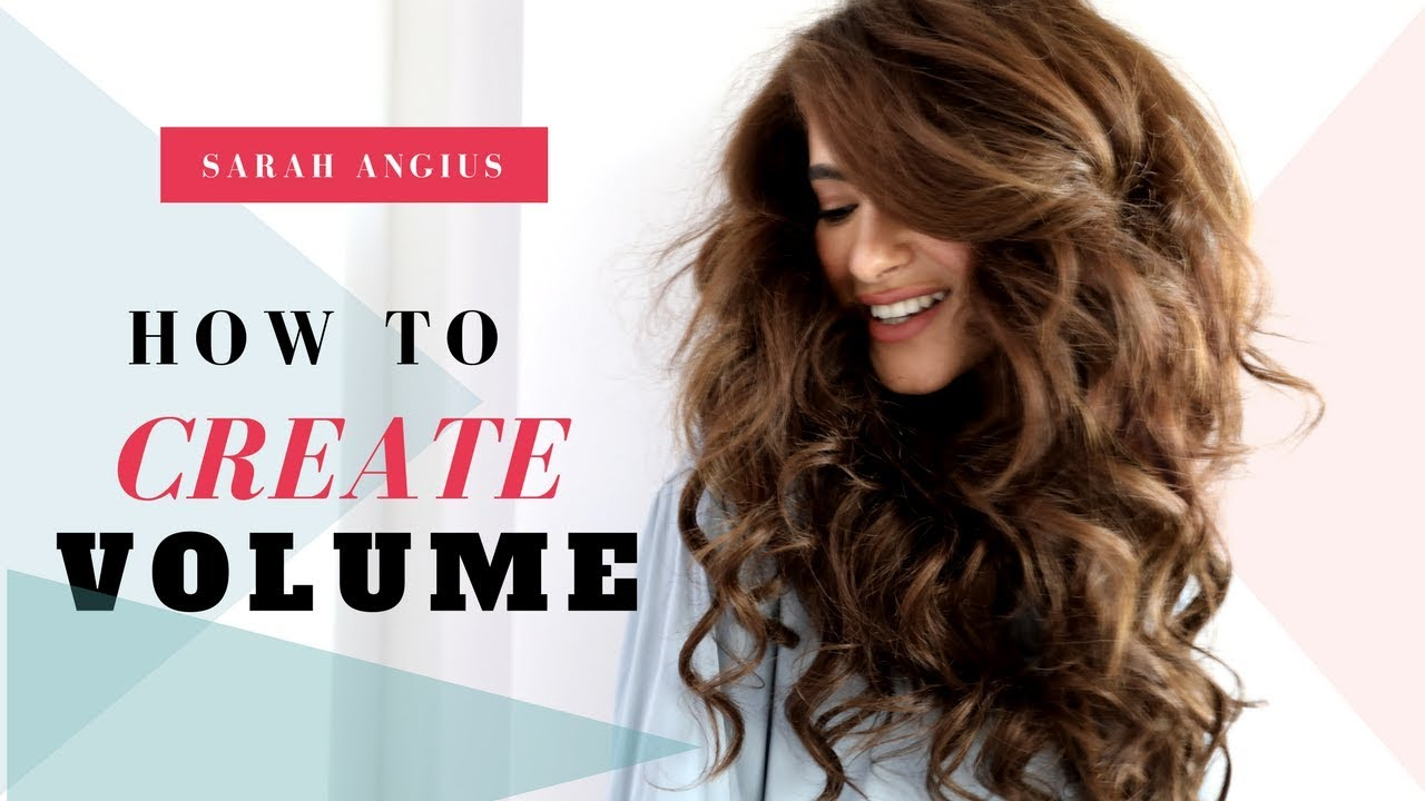 How To Create Volume With Clip In Extensions Sarah Angius Youtube