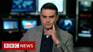 Ben Shapiro: US commentator clashes with BBC\'s Andrew Neil - BBC News