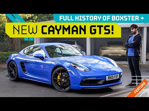 How the Cayman & Boxster Saved Porsche! + 2020 718 GTS!!