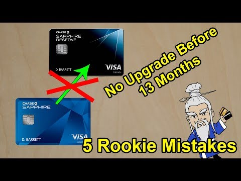 5 Rookie CREDIT CARD MISTAKES You Should Avoid