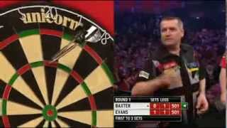 2014 PDC World Championships Best 180 Ever  * Ronnie Baxter