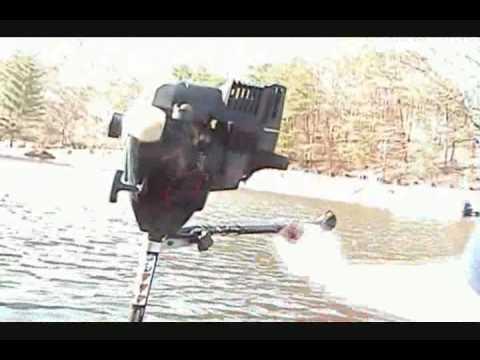 Weedeater Boat Motor