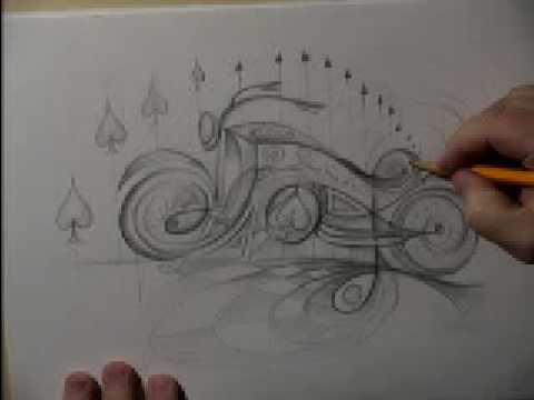 illusion optical drawing