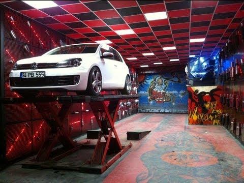 Volkswagen Golf 6 1.6 Tdi Egzoz Sesi ve Body Kit