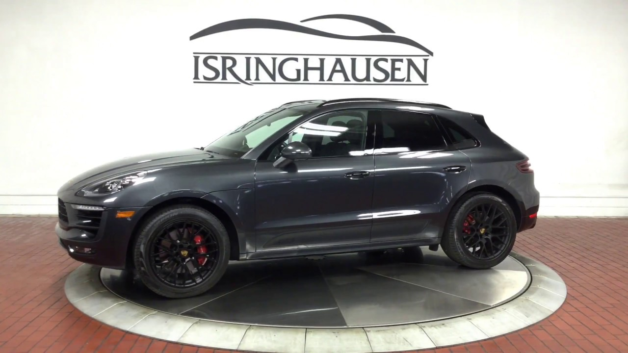 2017 Porsche Macan Gts In Volcano Grey Metallic 56503 Youtube