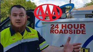 How to be AAA battery technician and roadside assistance.
