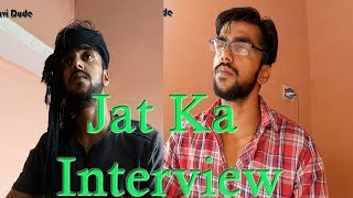 Jat Ka Fas Gaya Interview Me || AVH Clips ||