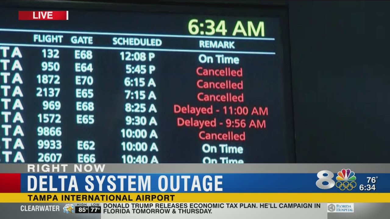 Delta cancellations and delays continue, seeks forgiveness with vouchers
